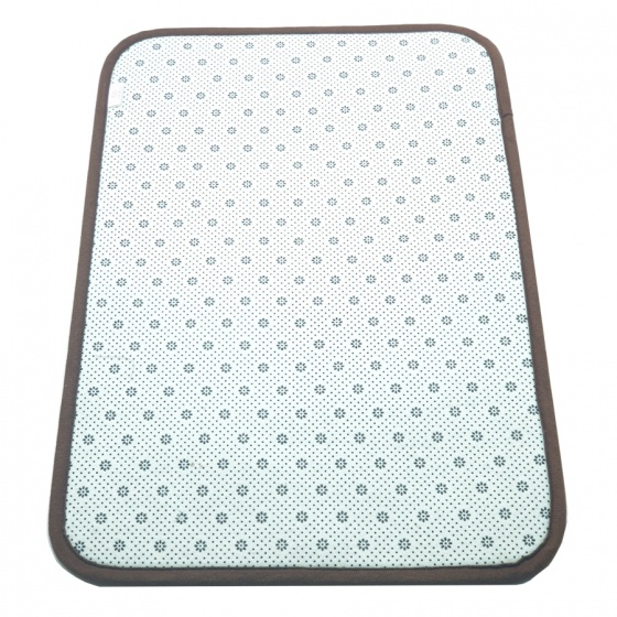 Thảm lau chân chống trơn trượt, lông dày mềm mịn 100% Polyester bền đẹp