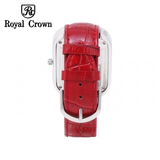 Đồng hồ nữ chính hãng Royal Crown 3771 dây da đỏ