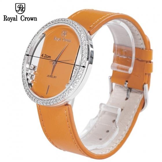 Đồng hồ nữ chính hãng Royal Crown 6110 cam
