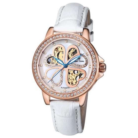 Đồng hồ nữ chính hãng Royal Crown 8450 (vỏ vàng hồng)