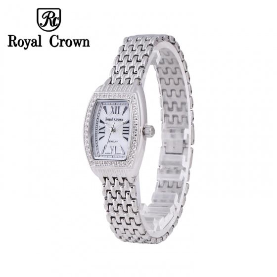 Đồng hồ nữ chính hãng Royal Crown 6304 dây thép