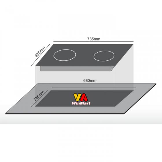 Bếp điện từ hồng ngoại Canaval CA-326 (4200W)