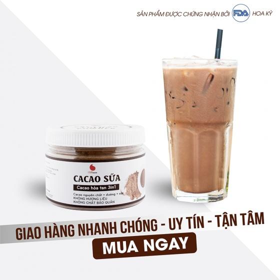 Cacao sữa từ nhà sản xuất Light Coffee - hũ 230g