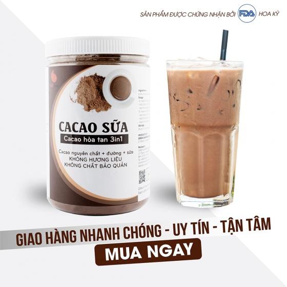 Cacao sữa từ nhà sản xuất Light Coffee - hũ 550g