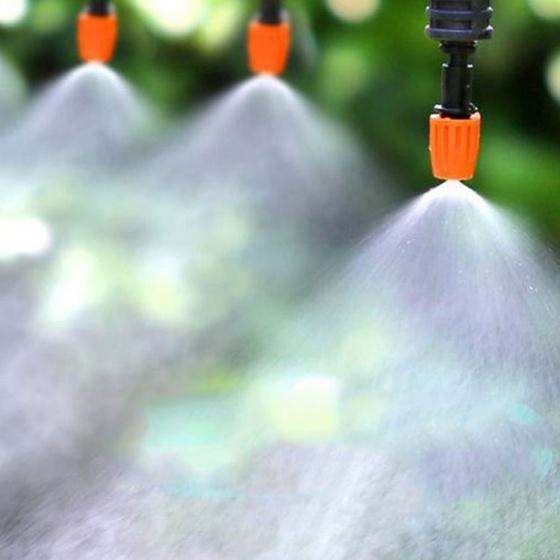 Máy bơm áp lực phun sương lọc nước RO 24V 110L 200G KERTER kèm nguồn