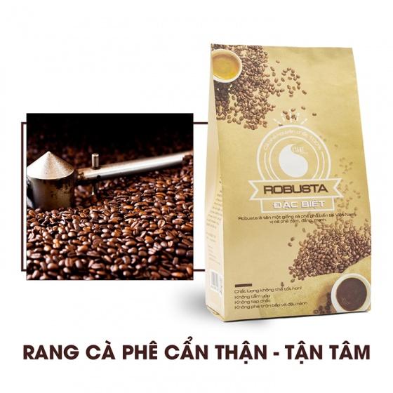Cafe bột đặc biệt Light Coffee - gói 500g tặng Cacao dừa CocoTerry gói 50g