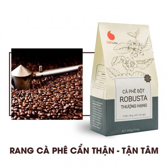 Cà phê nguyên chất dạng bột Thượng Hạng Light Coffee - 1kg (2 gói)