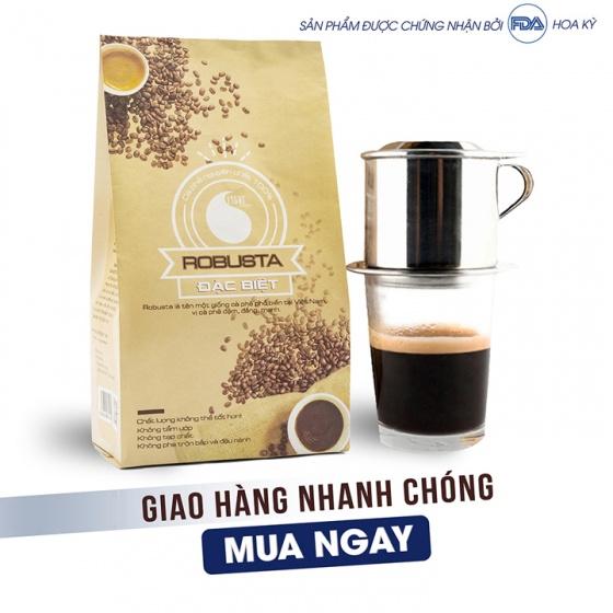 Cà phê bột đặc biệt Light Coffee - 1kg (2 gói)