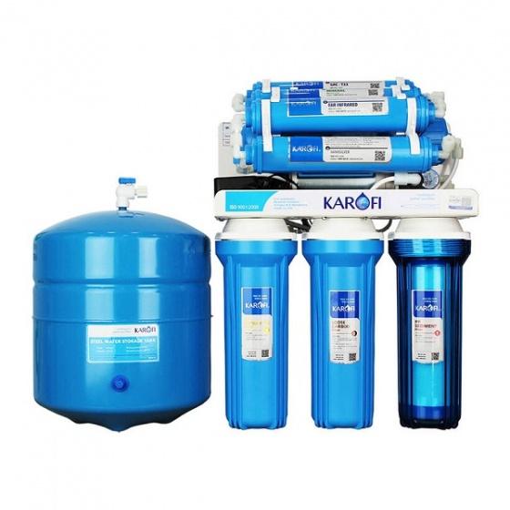 Máy lọc nước RO để gầm, không tủ Karofi KT-KT80 (8 cấp lọc)