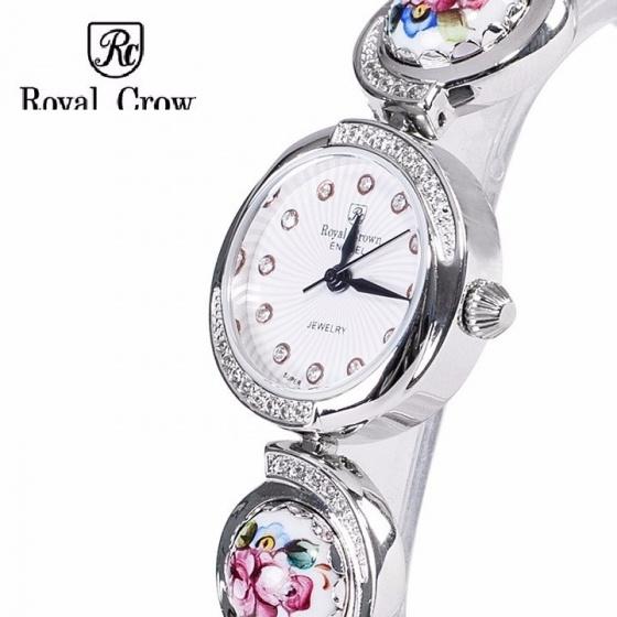 Đồng hồ nữ chính hãng Royal Crown 6430 Ceramic