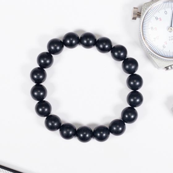 Vòng tay phong thủy đá obsidian nhám 10mm mệnh thủy , mộc - Ngọc Quý Gemstones