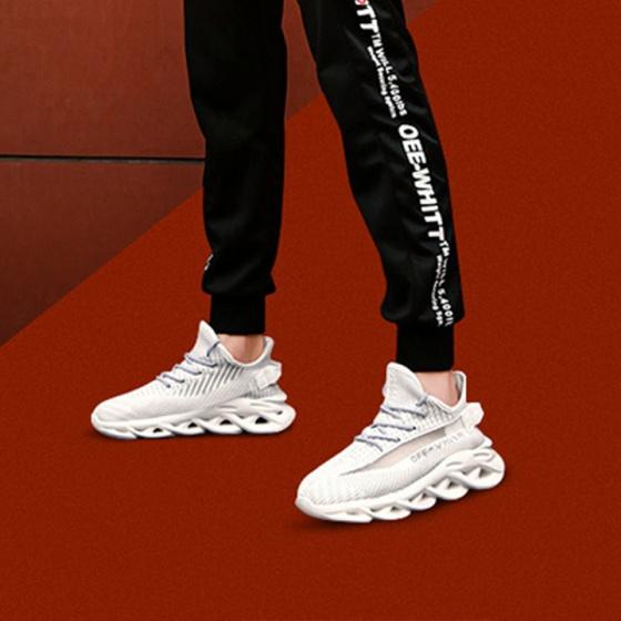 Giày nam đế xuyên không siêu nhẹ - giày nam xuyên không đế gợn sóng thời trang Hàn Quốc