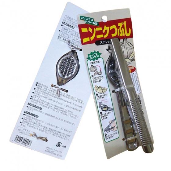 Dụng cụ ép tỏi đa năng sekikawa chiều dài 16.3cm, cối ép 3 cm