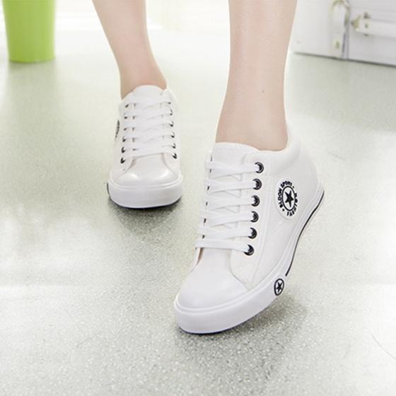 Giày thể thao nữ - giày thể thao nữ tăng chiều cao độn đế 5cm