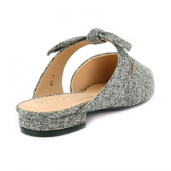 Giày búp bê êm chân SUNDAY BB37 xám