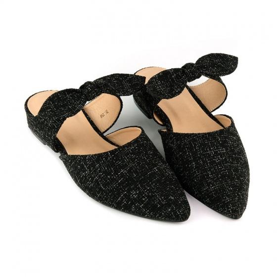 Giày búp bê êm chân Sunday BB37 đen