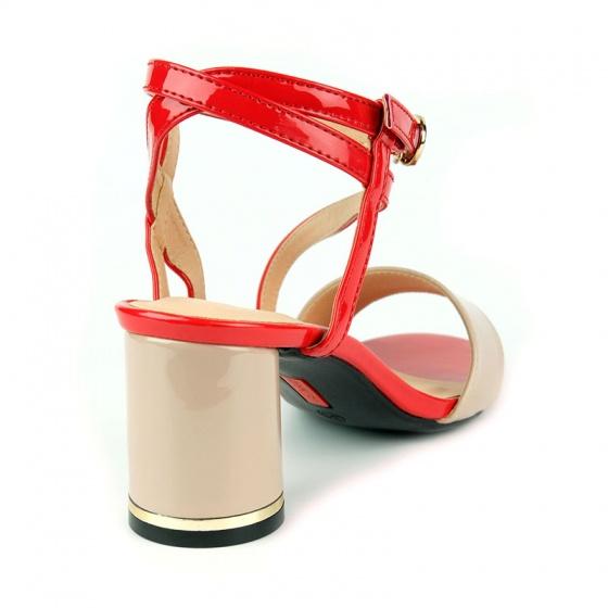 Sandal đế vuông êm chân Sunday DV55 đỏ