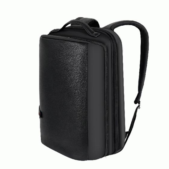(MIỄN PHÍ SHIP) Balo nam đựng laptop cao cấp Trip Peini màu đen