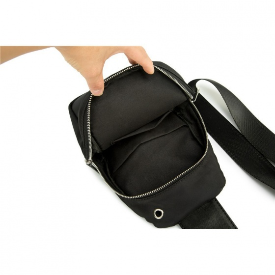 Combo balo unisex hình boymusic và túi đeo chéo thời trang Praza - BL176DC106