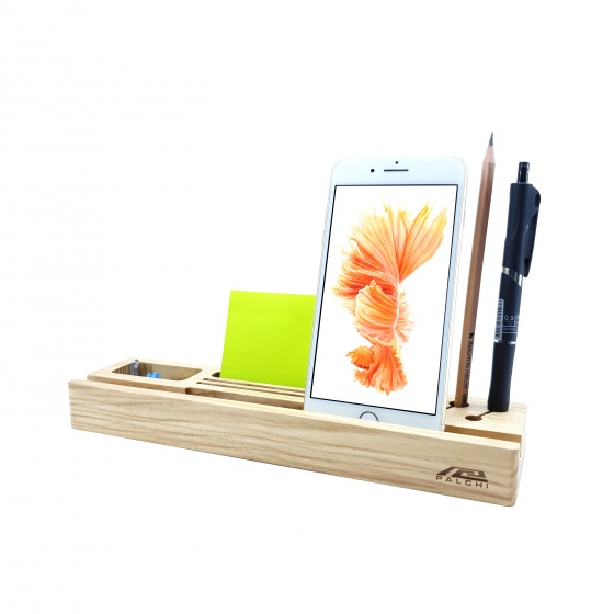 Đế đỡ đa năng gỗ cho điện thoại và máy tính bảng