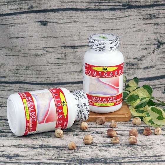 Combo 2 chai dược thảo toàn chân chai số 4A hỗ trợ điều trị đau sưng vì gout