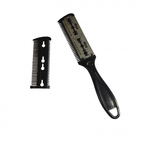 Lược tỉa tóc kẹp dao cạo