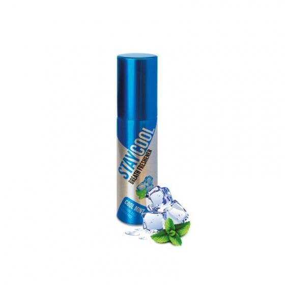 Combo 2 chai xịt thơm miệng StayCool Anh Quốc - hương bạc hà mát lạnh