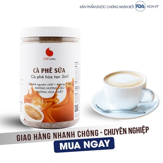 Cà phê sữa hũ 500g Light Coffee