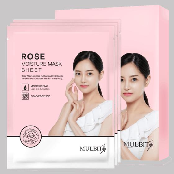Miếng mặt nạ Mulbit tinh chất hoa hồng (23ml)