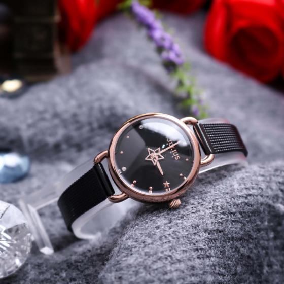 Đồng hồ nữ Julius Hàn Quốc JA -1192D dây thép
