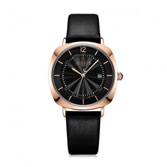 Đồng hồ nữ Julius Hàn Quốc JA -1190L dây da