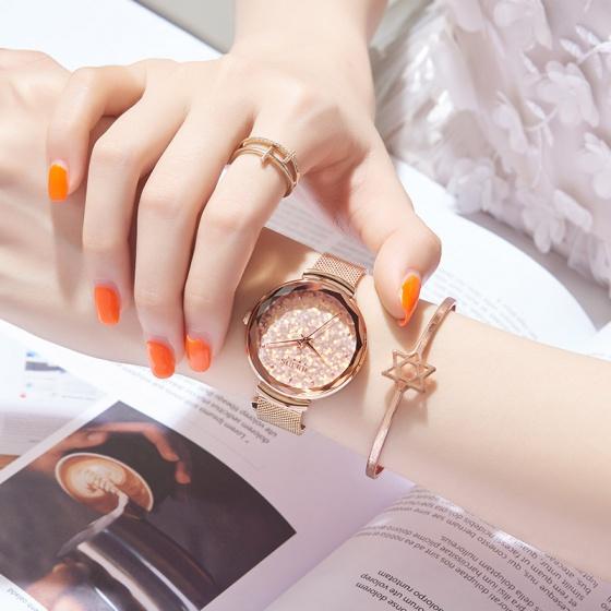 Đồng hồ nữ Hàn Quốc Julius JA-1189 dây thép