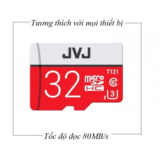 (Combo - chuyên dụng cho Camera) 2 thẻ nhớ JVJ Micro SDHC Pro 32G C10