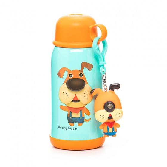 Bình giữ nhiệt BeddyBear 630ml cam họa tiết con chó RT104-630 CHO