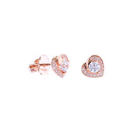 Bông tai vàng hồng DOJI 14K 0819R-LAL426