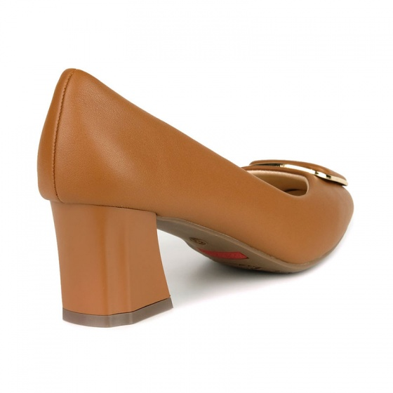 Giày cao gót êm chân Sunday CG44 nâu bò