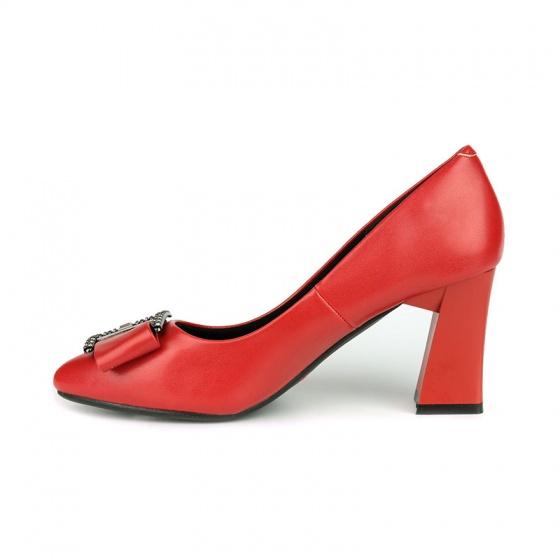 Giày cao gót êm chân Sunday CG43 đỏ