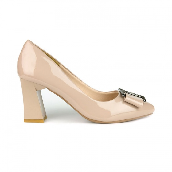 Giày cao gót êm chân Sunday CG43 kem