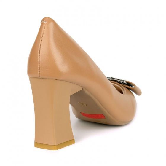 Giày cao gót êm chân Sunday CG43 nâu