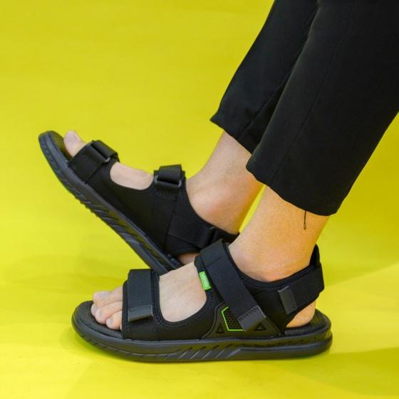 Giày sandal couple nam nữ hiệu Vento mã số NB18BB đế công nghệ Hybrid siêu nhẹ hàng xuất khẩu Nhật