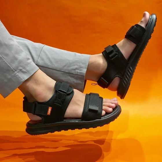 Giày sandal couple nam nữ hiệu Vento mã số NB01BB đế siêu nhẹ