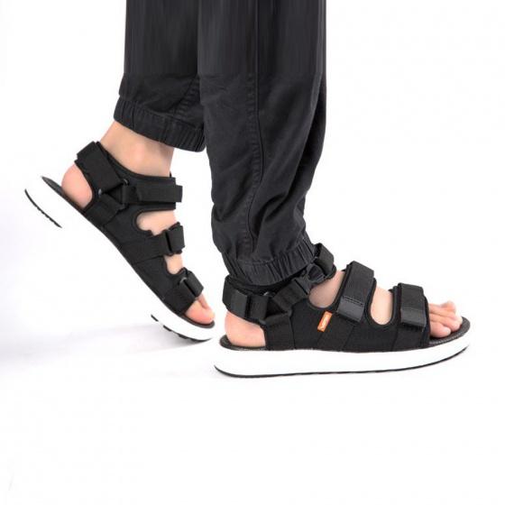 Giày sandal couple nam nữ hiệu Vento mã số NB03B đế siêu nhẹ