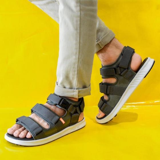 Giày sandal couple nam nữ hiệu Vento mã số NB03G2 đế siêu nhẹ