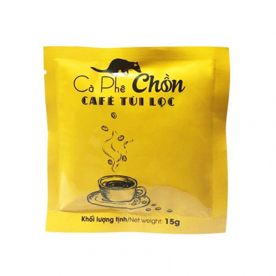 Café chồn túi lọc (2 hộp x 5gói x 15g)