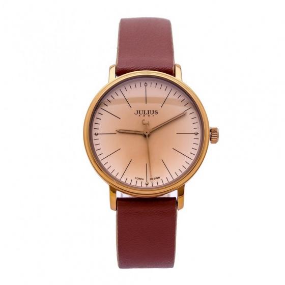 Đồng hồ nữ Julius Hàn Quốc JA-814le JU1005 (nâu)