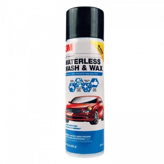 Chai xịt bọt rửa xe không cần nước và đánh bóng nhanh 3M 39110