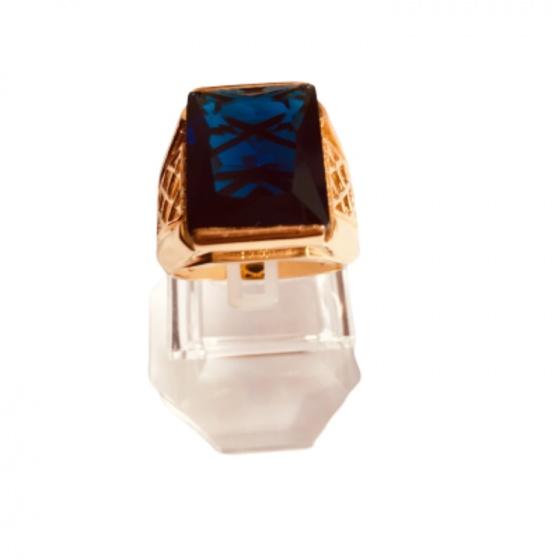 Nhẫn nam đá thạch anh mạ vàng 18k - RM01056
