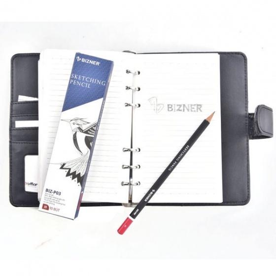 Combo 10 cây bút chì gỗ cao cấp Bizner BIZ-P03