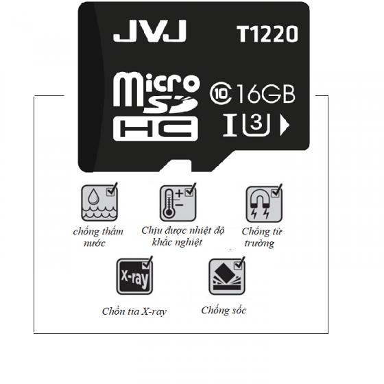 Thẻ nhớ micro SDHCJVJ 16G C10 - thẻ nhớ tốc độ cao