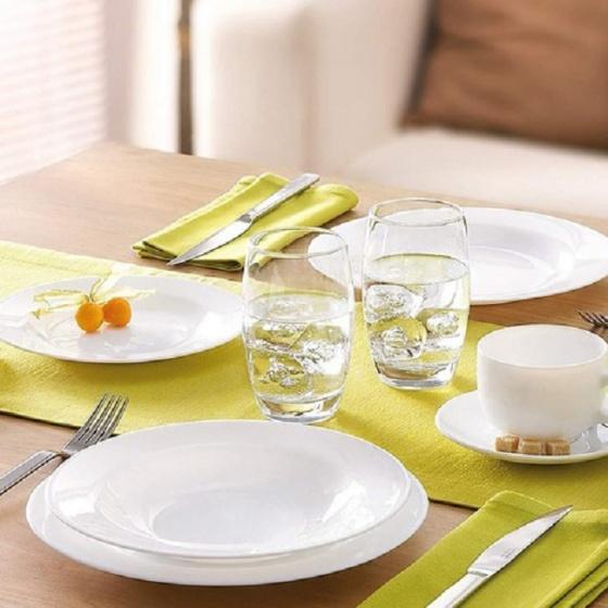 Bộ 3 đĩa thủy tinh Luminarc Evolution Dinner 24cm - 63375 - 1569452